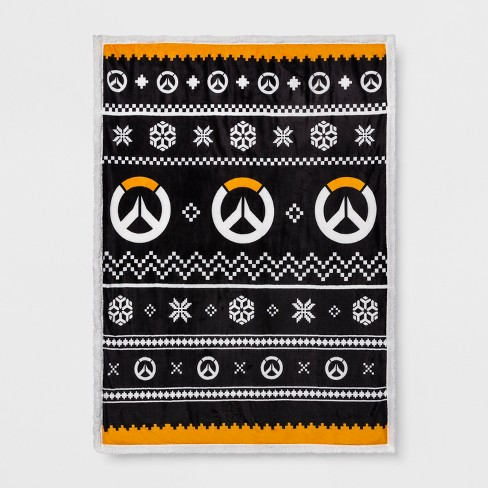 Overwatch Ugly Sweater Throw Target