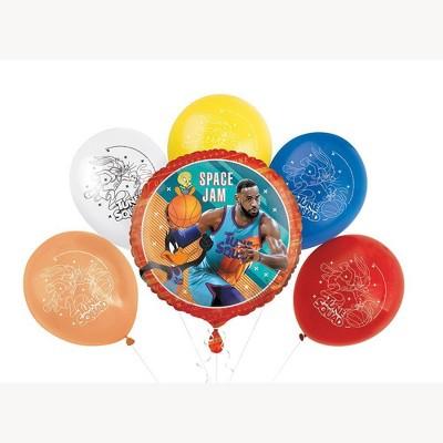 Space Jam 6pc Balloons Kit