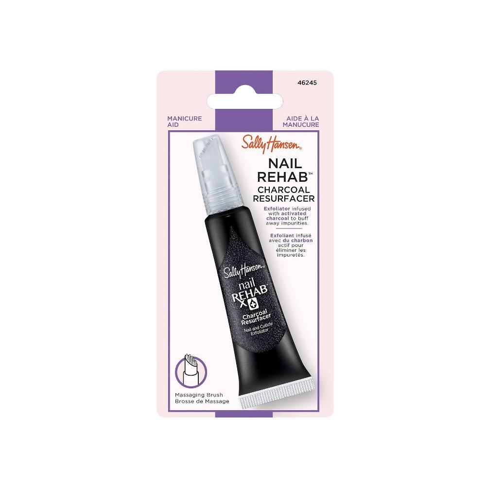 Best Sally Hansen Nail Treatment - 46245 Charcoal Resurfacer - 0.4 fl oz