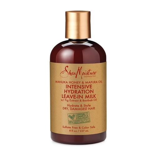 SheaMoisture Manuka Honey & Mafura Oil Intensive Hydration Leave-In Milk - 8 fl oz - image 1 of 2