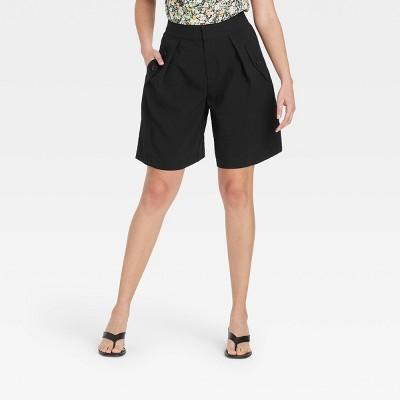 Women's Bermuda Shorts - Who What Wear™ Jet Black