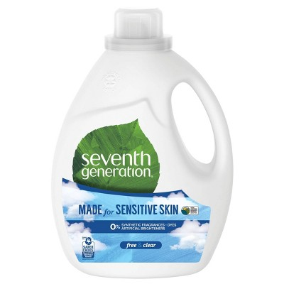 Seventh Generation Free & Clear Natural Liquid Laundry Detergent - 100 fl oz