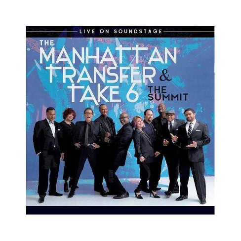 The Manhattan Transfer & Take 6: Summit Live On Soundstage (Blu-ray) - image 1 of 1