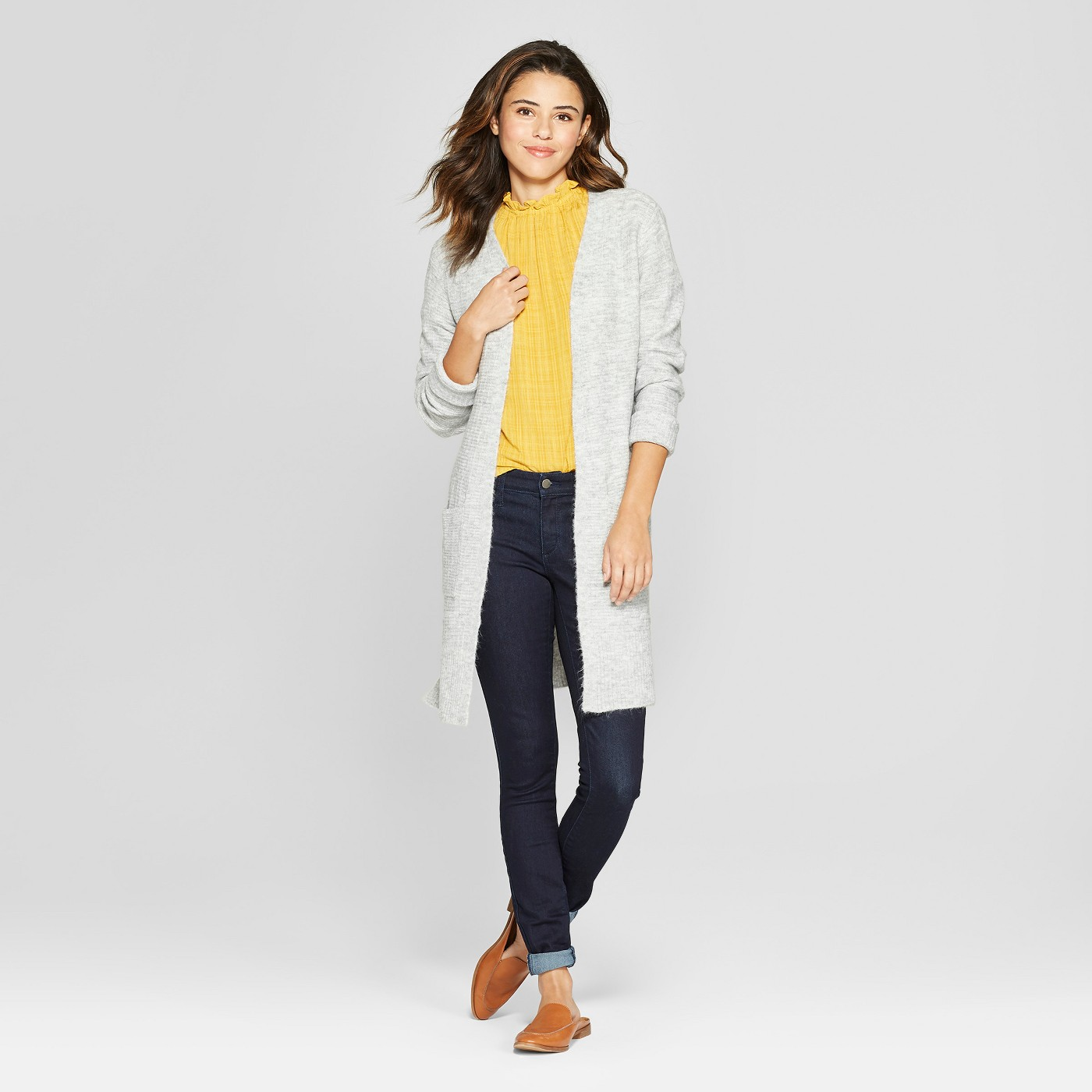 "Women's Duster Open Cardigan - Universal Threadâ""¢ - image 3 of 3"