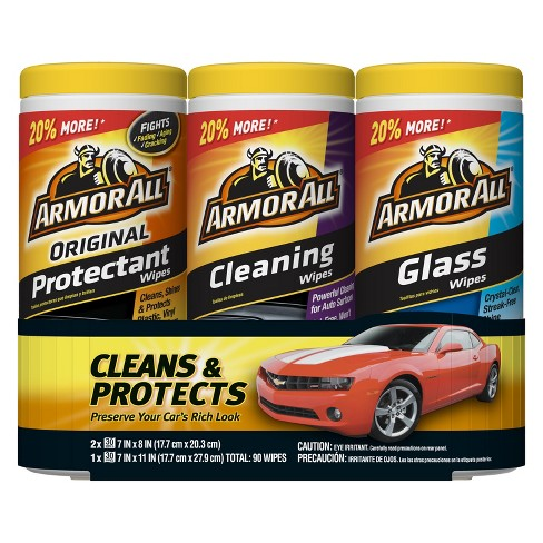 Armor All Protectant/Glass/Cleaning Wipes 3 pack - image 1 of 1