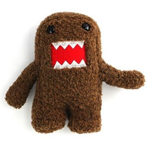 "Domo 6"" Plush With Braces - image 1 of 2"