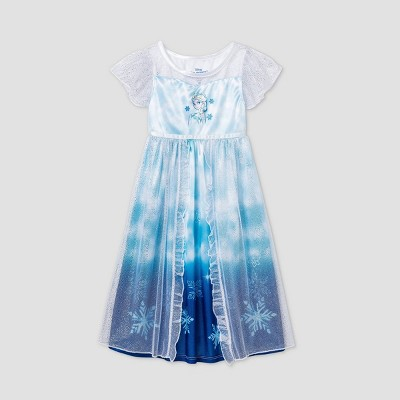 Toddler Girls' Frozen Fantasy Nightgown - Blue
