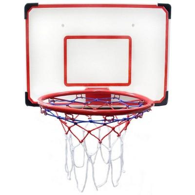 """Insten Indoor/Outdoor Hoop Set with Basketball, 27"""" x 18"""" Backboard & 15"""" Rim, Games for Kids Adults"""
