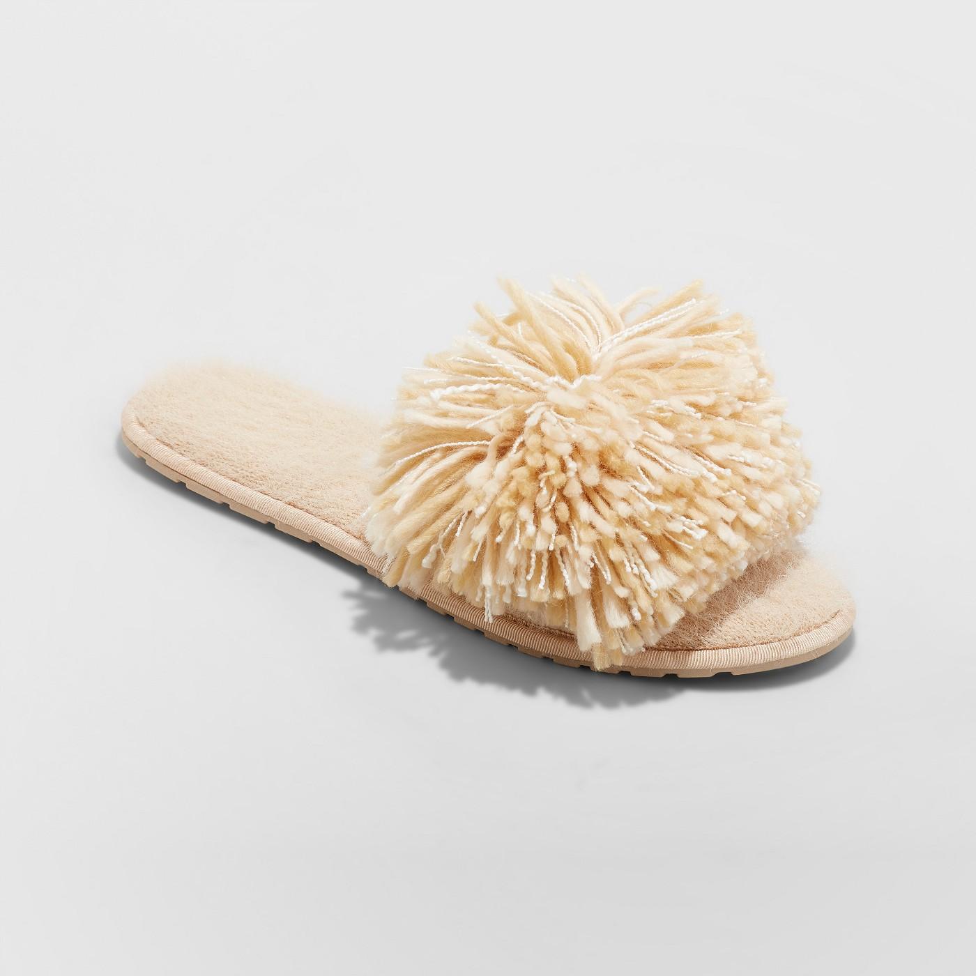 Women's Shaggy Slide Slipper - image 1 of 3