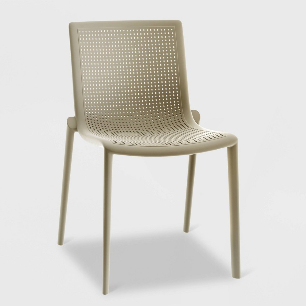 Beekat 2pk Patio Chair - Sand (Brown) - Resol