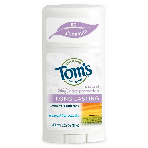Tom's Of Maine Long Lasting Beautiful Earth Natural Deodorant Stick - 2.25oz - image 1 of 1