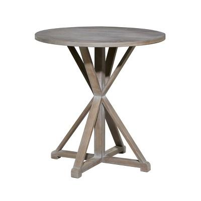 Farmhouse Wood Accent Table - Olivia & May