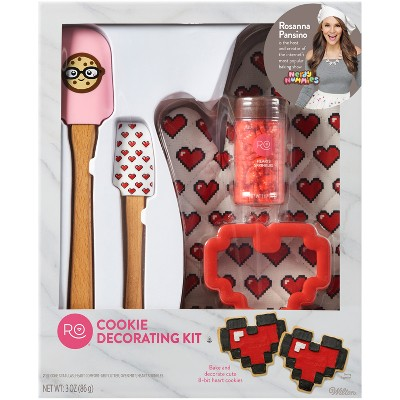 Rosanna Pansino by Wilton 5pc Cookie Decorating Kit