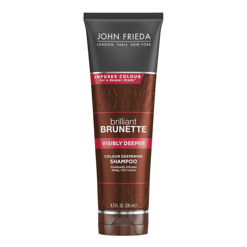 Image of John Frieda Brilliant Brunette Visibly Deeper Shampoo - 8.3 fl oz
