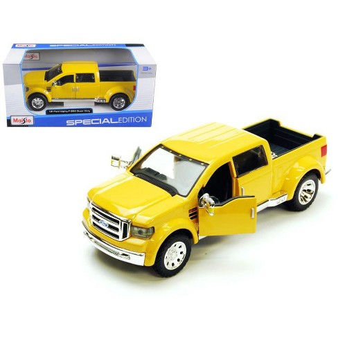 Ford Mighty F-350 Pick Up Truck Yellow 1/31 Diecast Model by Maisto - image 1 of 1