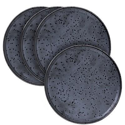 Robert Gordon® Charcoal Merchant .8 x11  Dinner Plate - Set of 4