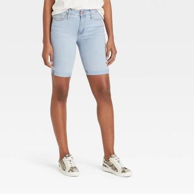 Women's High-Rise Bermuda Jean Shorts - Universal Thread™