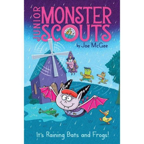 It's Raining Bats and Frogs! - (Junior Monster Scouts) by  Joe McGee (Hardcover) - image 1 of 1