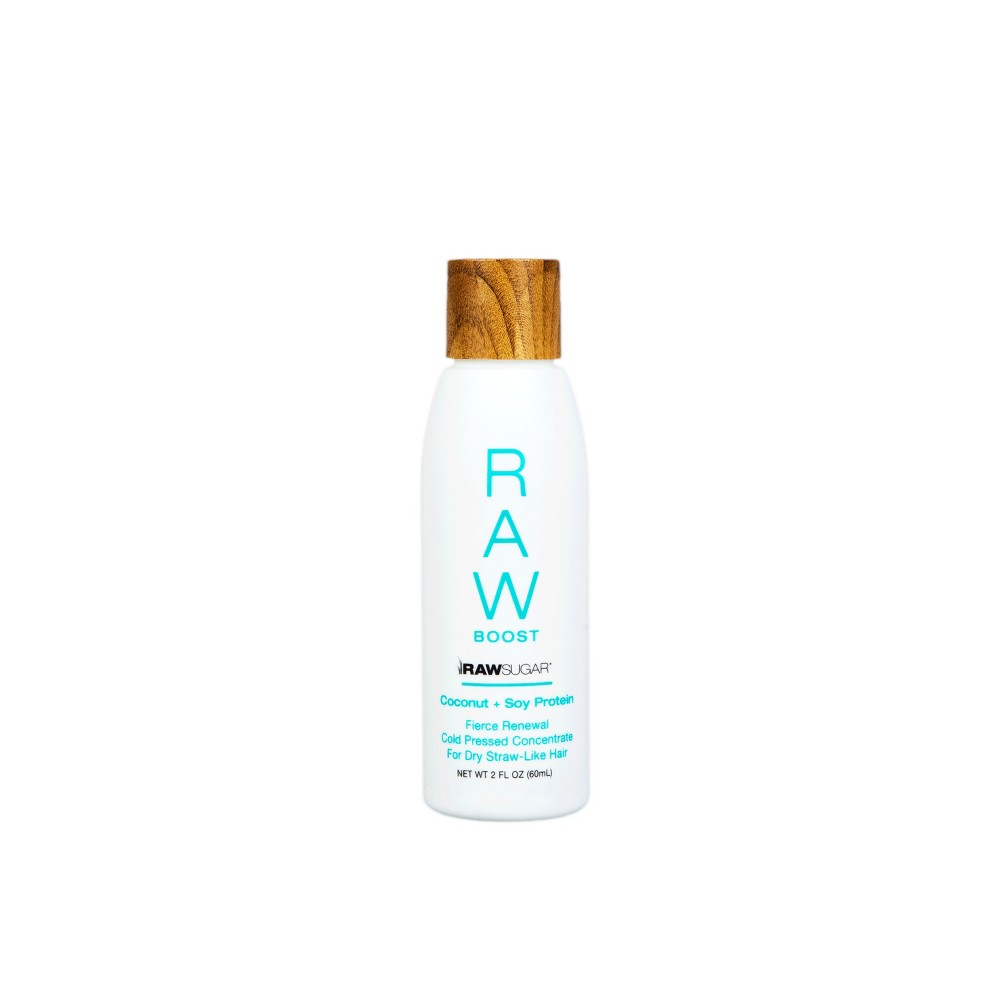 Image of Raw Sugar Hair Booster Coconut + Soy Protein - 2 fl oz