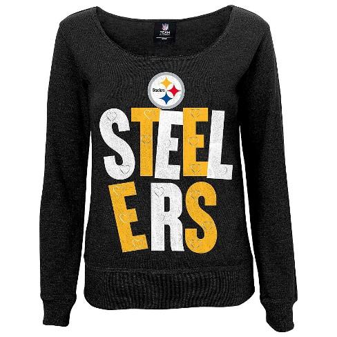 Pittsburgh Steelers Girls Open Neck Fleece M   Target 2a79070da