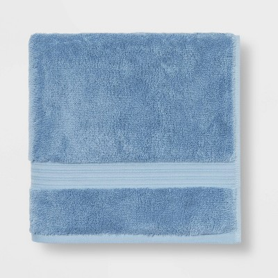 Antimicrobial Bath Towel Blue - Total Fresh