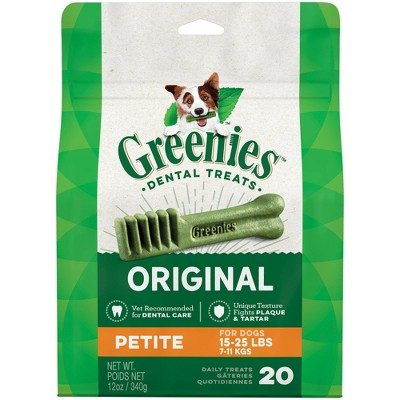 Dog Treats: Greenies Petite