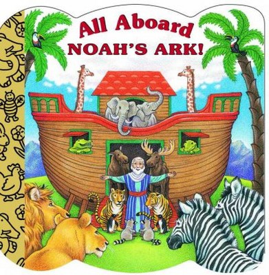 All Aboard Noah's Ark! - (Golden Books Inspirational)by Mary Josephs (Board_book)