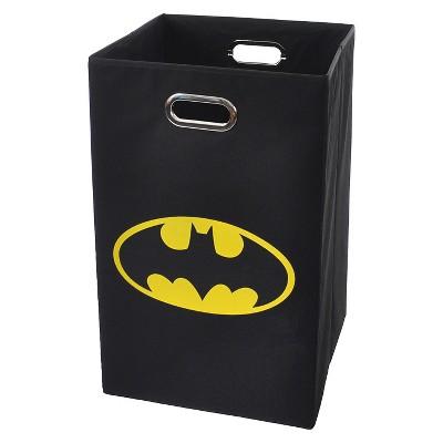 Logo Folding Hamper Black - Batman