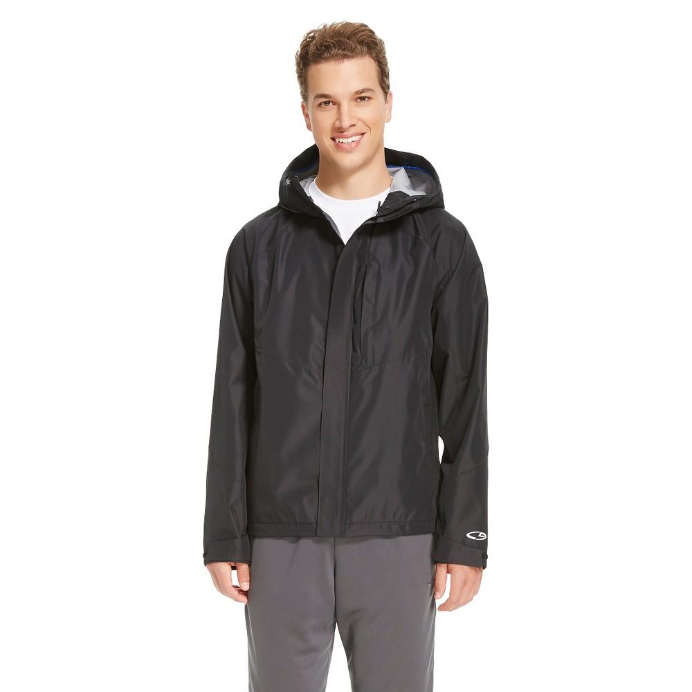 Men's Waterproof Breathable Shell Jacket - C9 Champion Black 2XL, Size: Xxl