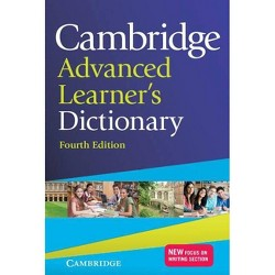 Cambridge Advanced Learner's Dictionary - 4 Edition (Hardcover)