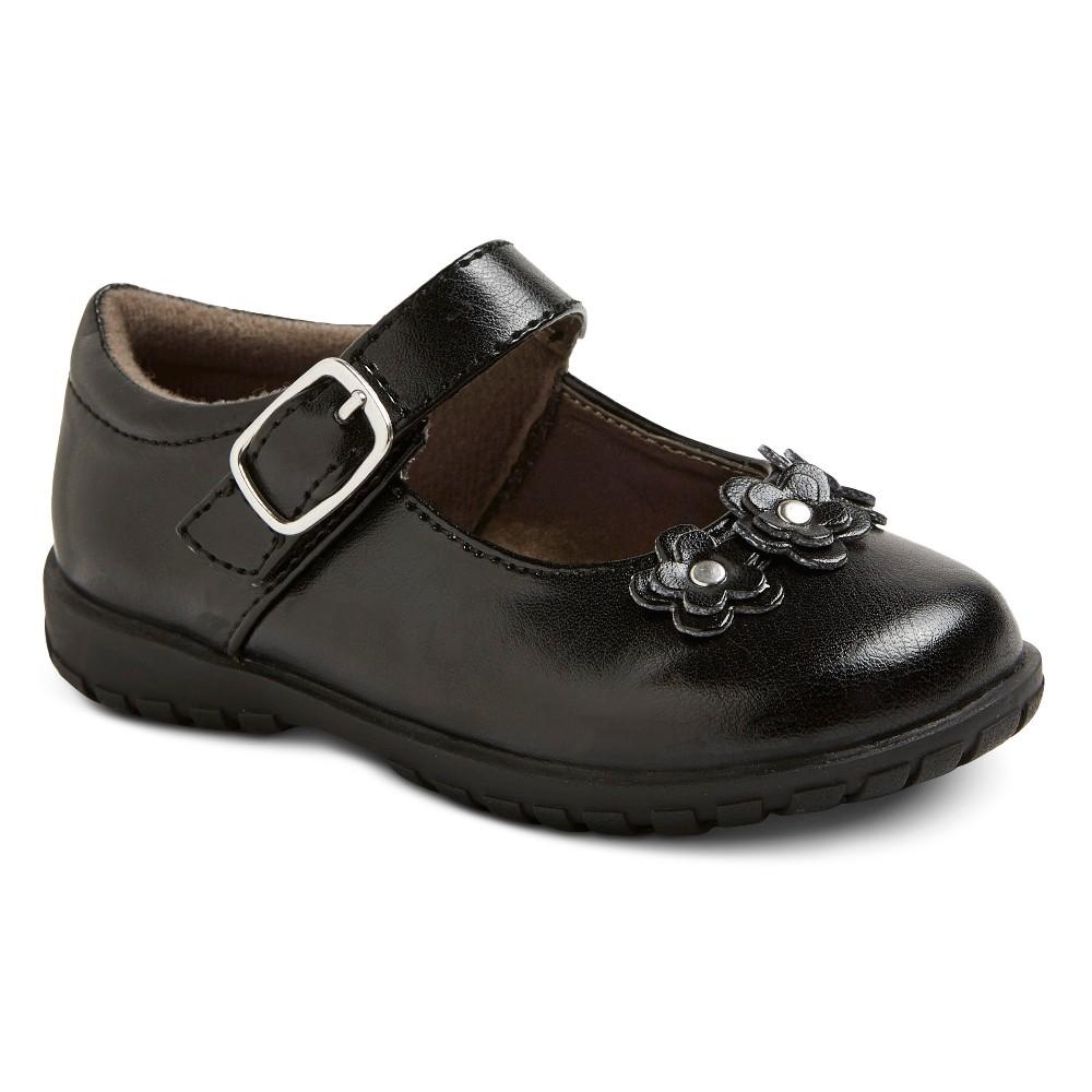 Image of Toddler Girls' Becki Mary Jane Shoes - Black 8, Girl's