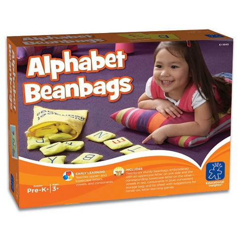 Educational Insights Alphabet Bean Bags - image 1 of 1