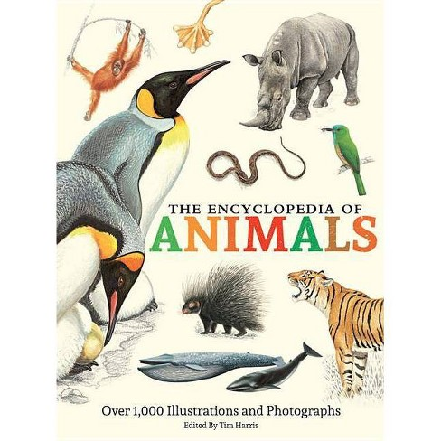 The Encyclopedia of Animals - (Hardcover) - image 1 of 1