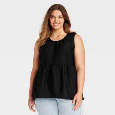 Women's Tank Peplum Top - Who What Wear™