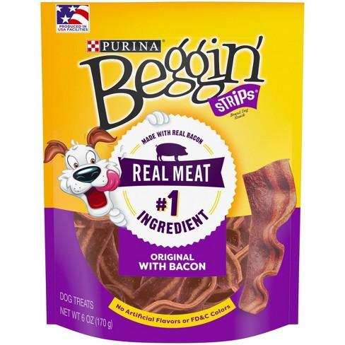 Purina Beggin' Strips Bacon Flavor Dog Treats - image 1 of 6