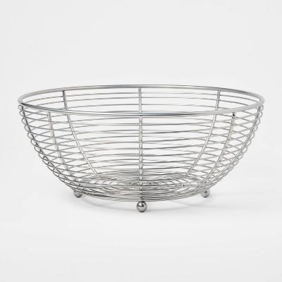 Nickel Fruit Basket - Threshold™