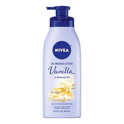 NIVEA Vanilla & Almond Oil Infused Body Lotion - 16.9 fl oz