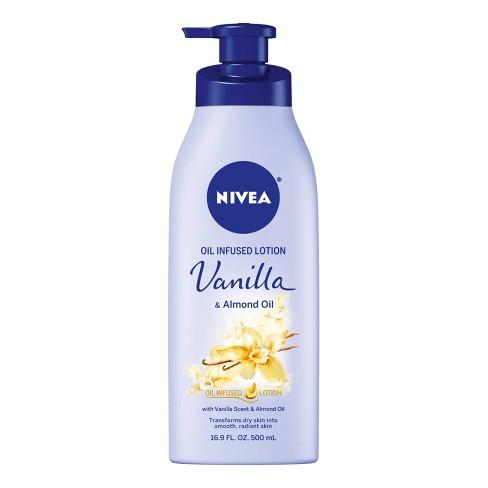 NIVEA Vanilla & Almond Oil Infused Body Lotion - 16.9 fl oz - image 1 of 4
