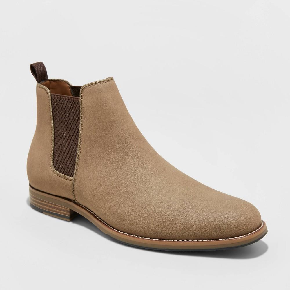 Image of Men's Ashford Chelsea Boots - Goodfellow & Co Tan 10.5, Men's, Beige