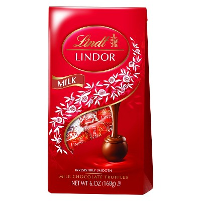 Lindt Lindor Milk Chocolate Truffles - 6oz