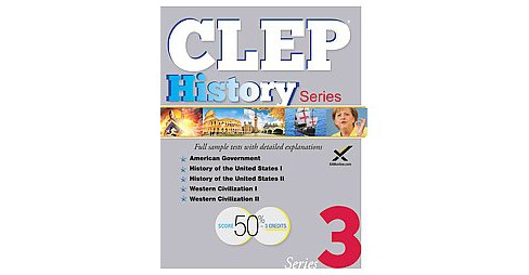CLEP History Series (Paperback) (Sharon Wynne) - image 1 of 1