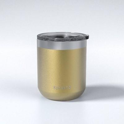 Proof 12oz Stainless Steel Travel Mug Gold