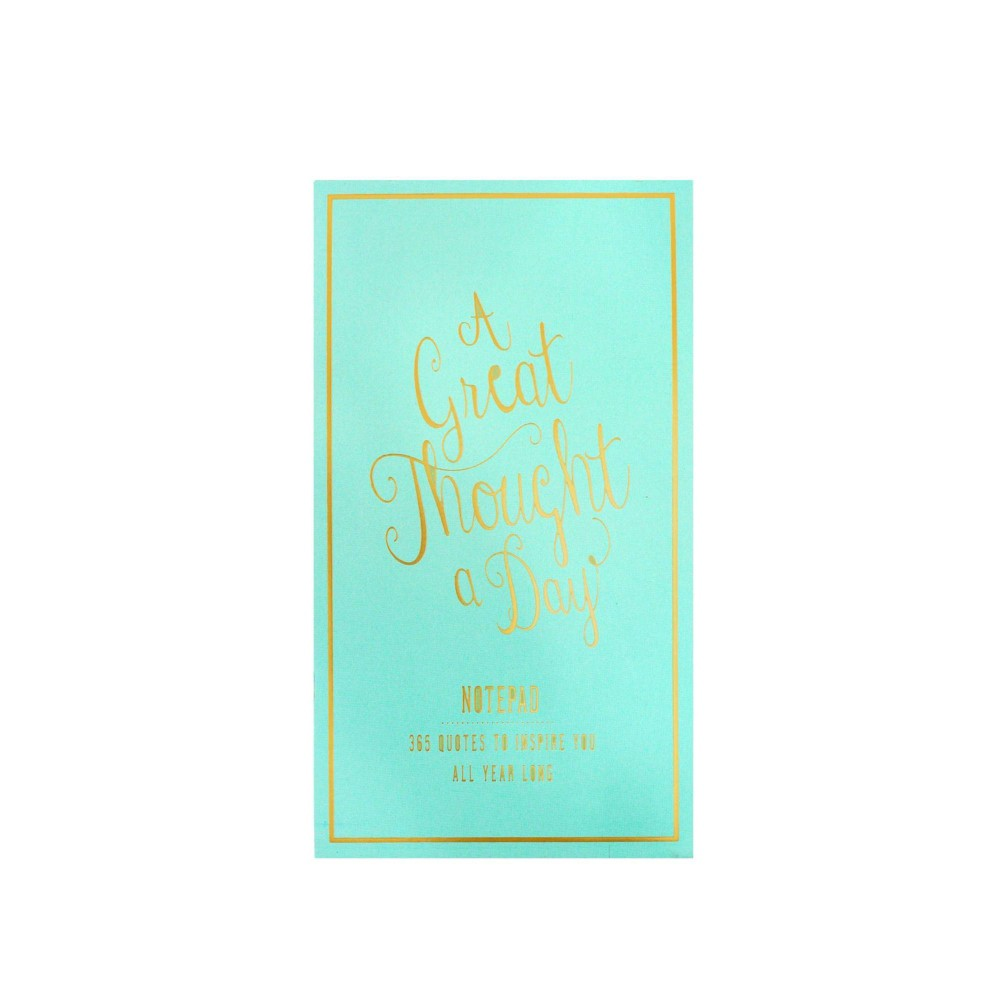 Image of Great Thought a Day Deskpad Seafoam