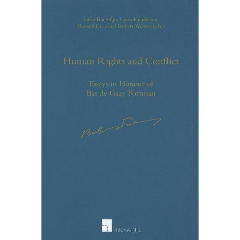 Human Rights and Conflict - (Paperback) - image 1 of 1