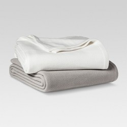 Solid 100% Cotton Blanket - Threshold™