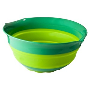 Squish 5 Quart Collapsible Bowl, Green
