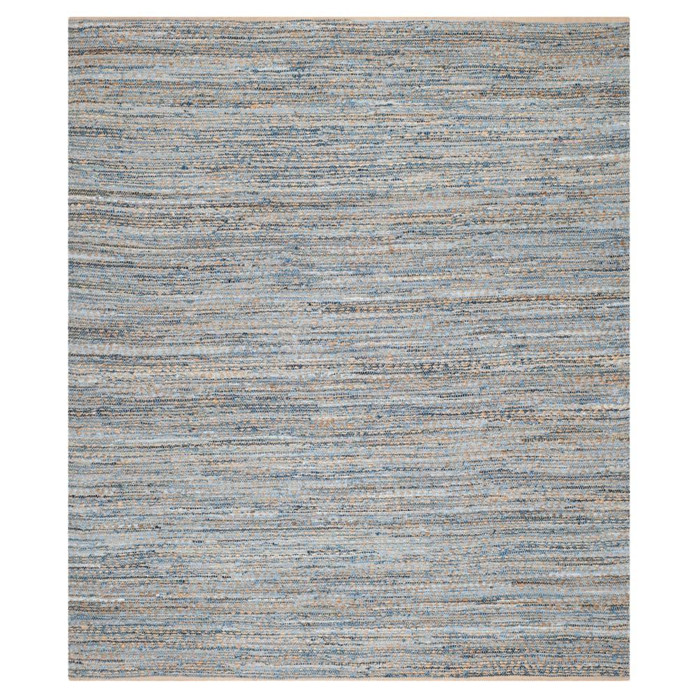 Archie Area Rug - Natural/Blue (9'x12') - Safavieh