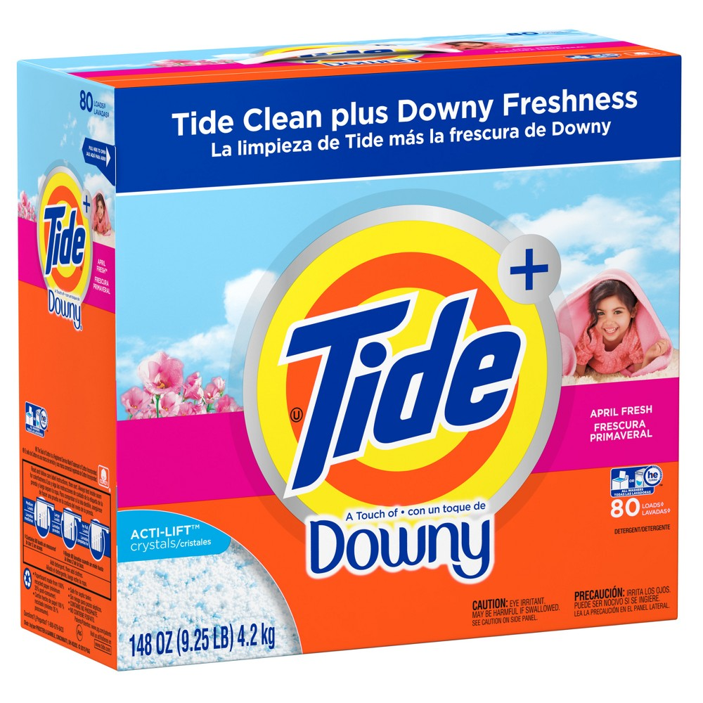 Tide with Downy Powder Laundry Detergent - 148oz