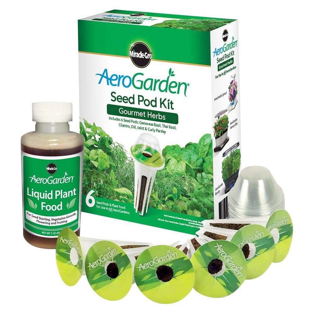 Miracle-Gro AeroGarden Gourmet Herbs Seed Pod Kit (3-Pod)