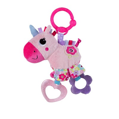 Bright Starts Sparkle & Shine Taggies Unicorn